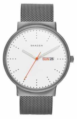 Skagen Ancher Titanium & Steel-Mesh Watch SKW6321