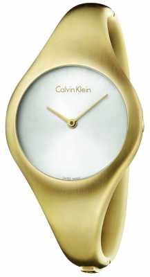 Calvin Klein Ladies Bare Gold Steel Watch K7G1M516