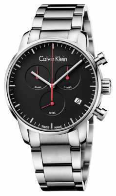 Calvin Klein Men's City Polished Chrono Watch K2G27141