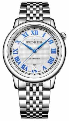 Dreyfuss Men's Stainless Steel 1925 Watch DGB00148/01