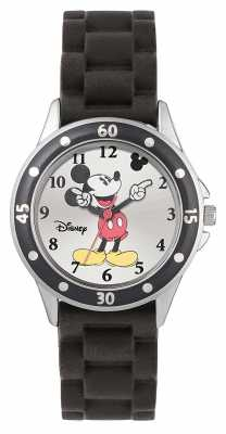 Disney Princess Mickey Mouse Black Rubber Strap MK1195