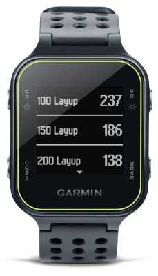 Garmin Mens Garmin Approach S20 Golf Slate 010-03723-02