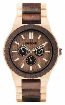 WeWood Mens Kappa Choco Creama Wooden Strap 70315510