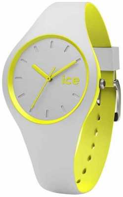 Ice-Watch Unisex Duo Grey Yellow Silicone DUO.GYW.U.S