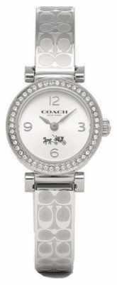 Coach Womens Madison Fashion Stainless Steel Silver Dial 14502201