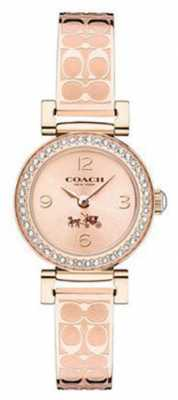 Coach Womens Madison Fashion Rose Gold PVD Plated 14502203
