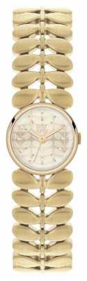 Orla Kiely Womens Laurel Gold PVD Plated OK4022