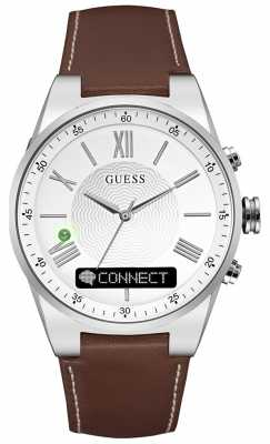 Guess CONNECT Brown Leather C0002MB1