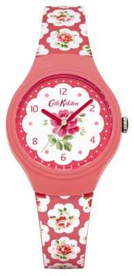 Cath Kidston Ladies Provence Pink Rose Printed Watch CKL025P