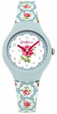 Cath Kidston Ladies Provence Blue Rose Printed Watch CKL025U