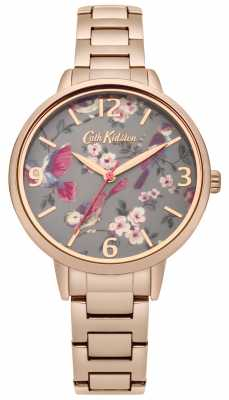 Cath Kidston Ladies British Birds Rose Gold Bracelet CKL001RGM