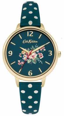 Cath Kidston Ladies Briar Rose Green Polka Dot Strap CKL004NG