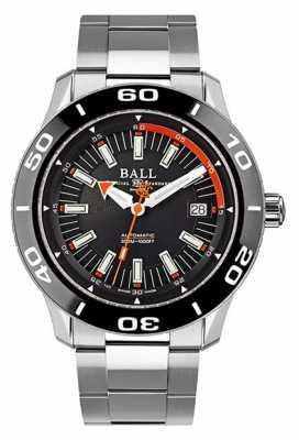 Ball Fireman Auto 42mm Steel DM3090A-SJ-BK