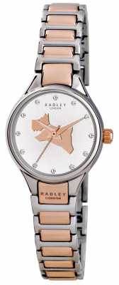 Radley On The Run Link Two Tone Bracelet RY4214