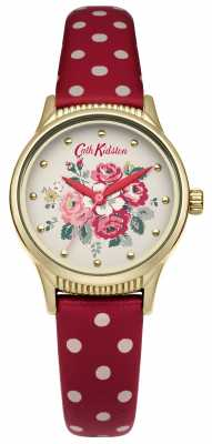 Cath Kidston Red Polka Dot Strap White Dial CKL012RG
