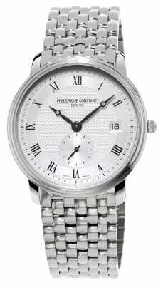 Frederique Constant Mens Slim Line Stainles Steel Bracelet FC-245M4S6B