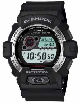 Casio G-Shock Solar Powered Mens Alarm GR-8900-1ER