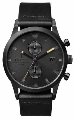 Triwa Mens Sort Of Black Leather LAST105-CL010113