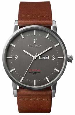 Triwa Mens Dusk Klinga Brown Leather KLST102-CL010212