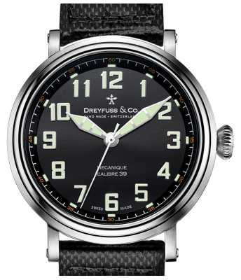 Dreyfuss Gents Strap Steel DGS00164/19