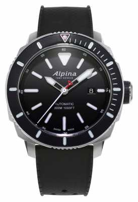 Alpina Mens Seastrong Diver 300 Automatic AL-525LBG4V6
