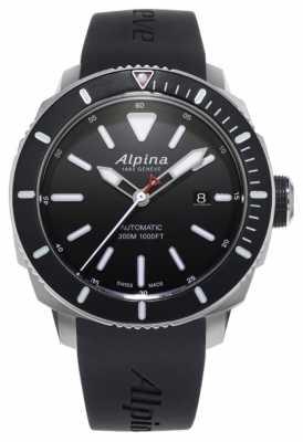 Alpina Mens Seastrong Diver 300 Automatic AL-525LBG4V6