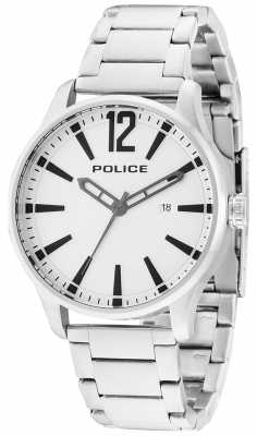 Police billettes en acier inoxydable Mens dallas 14764JS/04M