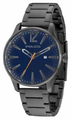 Police Mens dallas gun Billet blaues Zifferblatt 14764JSU/03M
