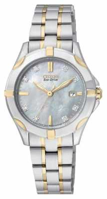 Citizen Silhouette 8 Diamonds EW1934-59D