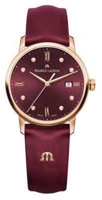 Maurice Lacroix Womens Eliros 388 Pieces Valentines Limited Edition Leather EL1094-PVP01-550-1