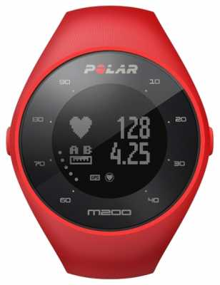 Polar Unisex Red M200 GPS M/L Wrist HR 90061217