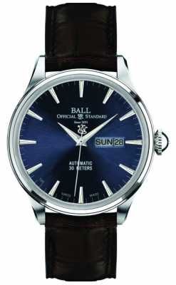 Ball Eternity Blue Dial Trainmaster NM2080D-LJ-BE