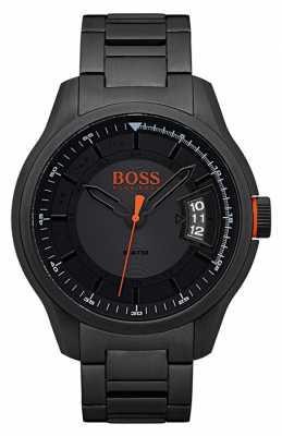 Hugo Boss Orange Hong Kong Black Stainless Steel Watch 1550005
