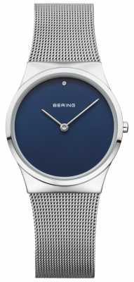 Bering Womans Classic Mesh Blue Dial 12130-007
