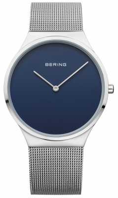 Bering Womans Classic Mesh Blue Dial 12138-007