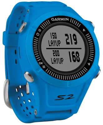 Garmin Mens Approach S2 GPS Golf Blue 010-01139-07