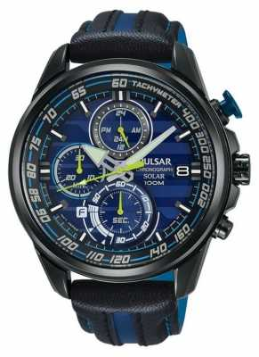 Pulsar Gents Limited Edition M-Sport Blue Solar Chrono PZ6019X1