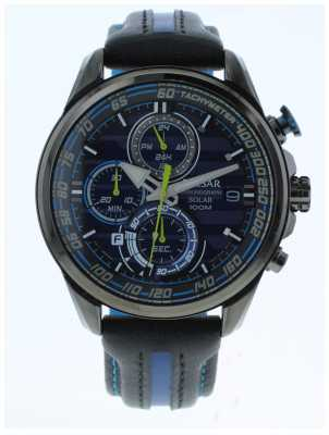 Pulsar Gents m-sport Limited Edition Blue Solar Chrono PZ6019X1