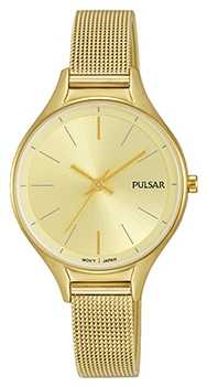 Pulsar Ladies Gold Plated Watch PH8278X1