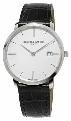 Frederique Constant Mens Slim Line Leather FC-220S5S6
