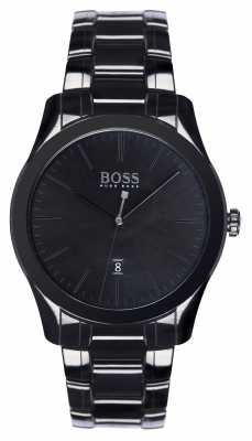Hugo Boss Mens Ambassador Special Edition Black Ceramic Bracelet 1513223