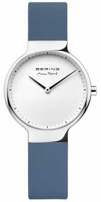 Bering Ladies Max René Interchangeable Blue Rubber Strap 15531-700