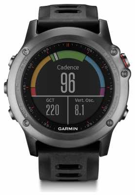 Garmin Fenix 3 Sapphire HR Alarm Chronograph Black 010-01338-71