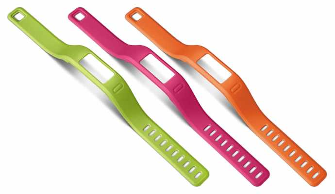 Garmin Orange, Pink, Green Vivofit Bands L 010-12149-15