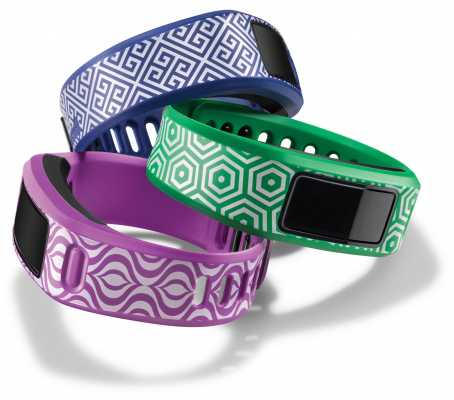 Garmin Blue, Green, Purple Waikiki Trio Vivofit Bands S 010-12149-27