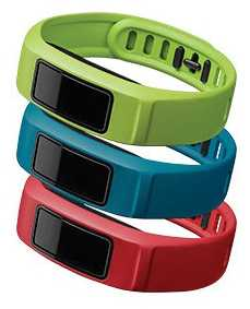 Garmin Red, Blue Green Vivofit 2 Bands S 010-12336-12