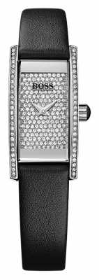 Hugo Boss Ladies Cocktail Rectangle Black Watch 1502389