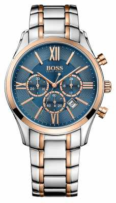 Hugo Boss Gents Ambassador Stainless Steel Watch 1513321