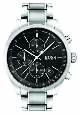 Hugo Boss Gents Grand Prix Stainless Steel Watch 1513477