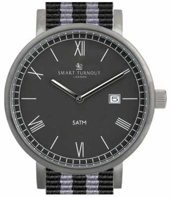 Smart Turnout County Watch- Black With Nato Strap STK1/BK/56/W
